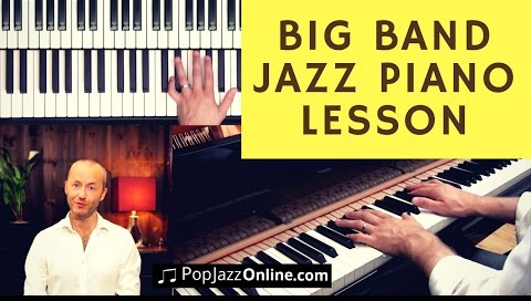 How To Play Piano in a Jazz BIG Band (7 Steps) | Frazer Goodman