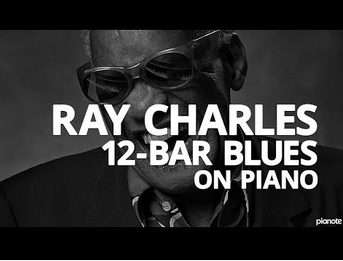 The Ray Charles 12-Bar Blues Piano Lick – Piano Lesson   Frazer Goodman